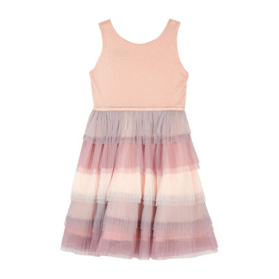 by&by girl Sleeveless A-Line Dress - Big Kid Girls