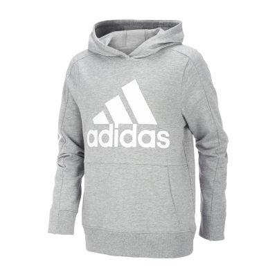 adidas Boys Midweight Track Jacket Preschool / Big Kid