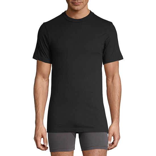 Stafford® 3-pk. Heavyweight Cotton Crewneck T-Shirts