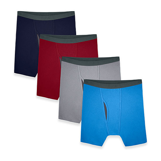 Fruit of the Loom Cool Zone Fly 4 Pair Boxer Briefs