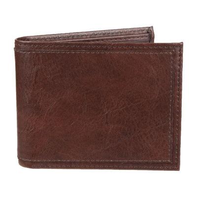 JF J.Ferrar® RFID Extra Capacity Slimfold Wallet