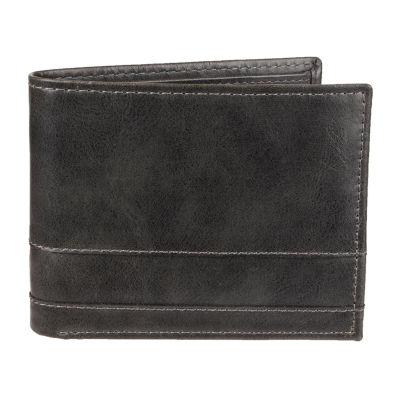 JF J.Ferrar® RFID Extra Capacity Traveler Wallet