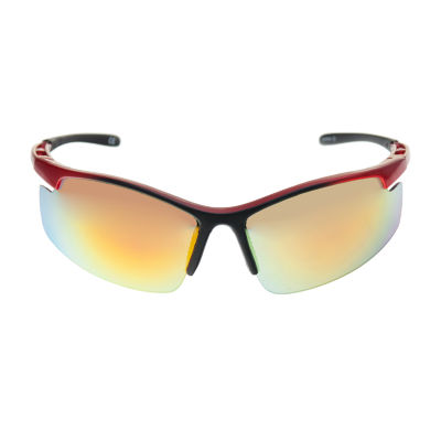 Xersion® Blade Sunglasses with Multilayered Mirrored Lens