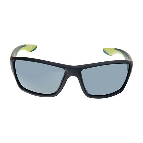 Xersion Wrap Around Sunglasses With Citron Accents