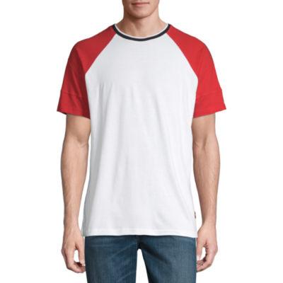 Akademiks Mens Crew Neck Short Sleeve T-Shirt