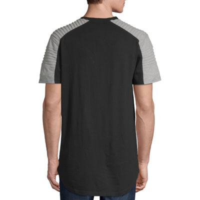 Akademiks Mens Crew Neck Short Sleeve T-Shirt
