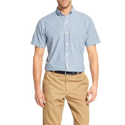IZOD Breeze Short Sleeve Button-Down Shirt