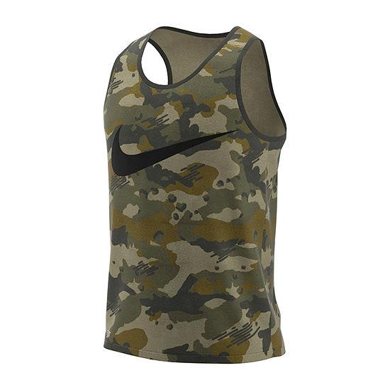 Nike Mens Camo Tank Top