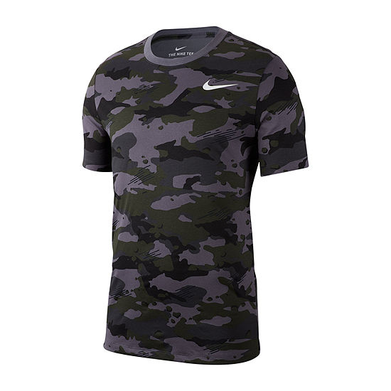Nike Mens Camo Print T-Shirt