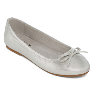 Arizona Big Kids Girls Willow Ballet Flats Slip-on Closed Toe