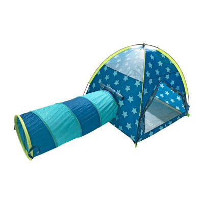 Outdoor Oasis Teepee Tunnel Pop-up Play Tent