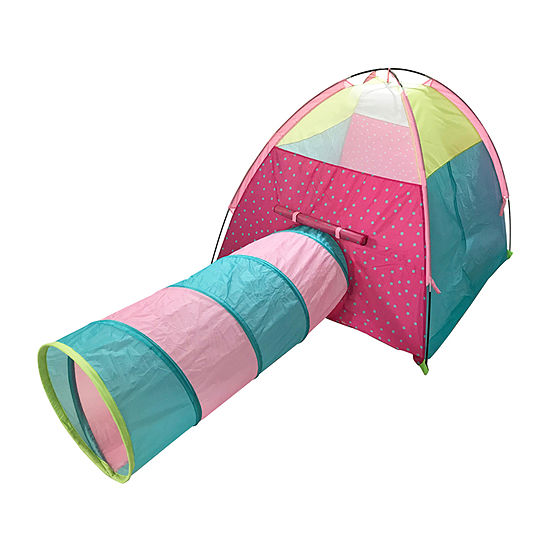 Outdoor Oasis Teepee Tunnel Play Tent