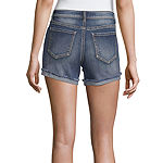 Vanilla Star Womens Low Rise Midi Short-Juniors