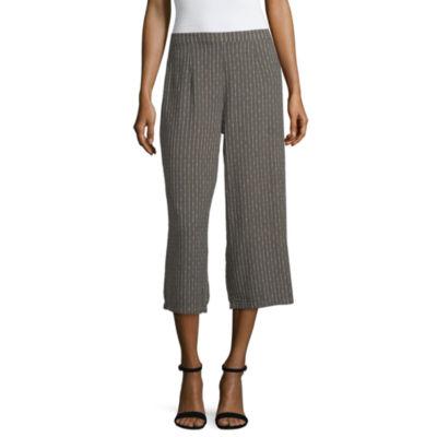 Unionbay Womens Low Rise Wide Leg Pull-On Pants-Juniors