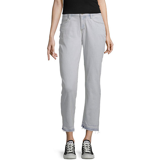 Arizona - Juniors Womens Low Rise Straight Leg Jean