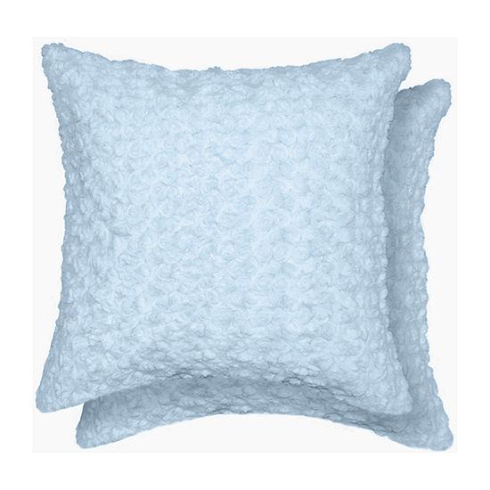 Rose Swirl Multi-Pack Square Throw Pillow
