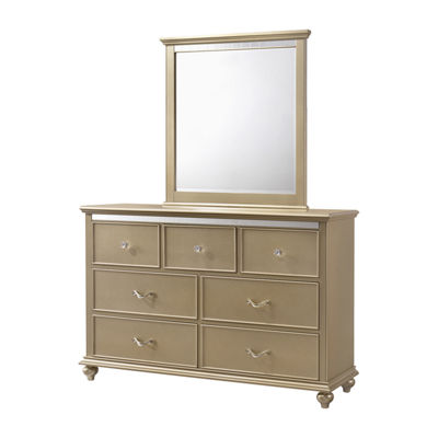 Hollywood Dresser and Mirror