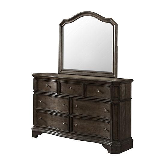 Avignon Dresser and Mirror