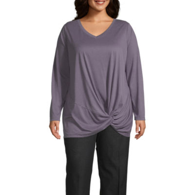 Xersion Side Knot Tee – Plus