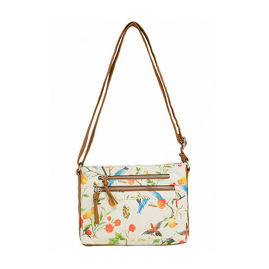 Bueno of California Printed Washed Crossbody Bag