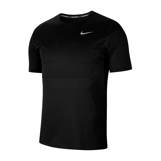 Nike Mens Crew Neck Short Sleeve Moisture Wicking T-Shirt