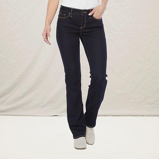 a.n.a. Womens Slim Bootcut Jean