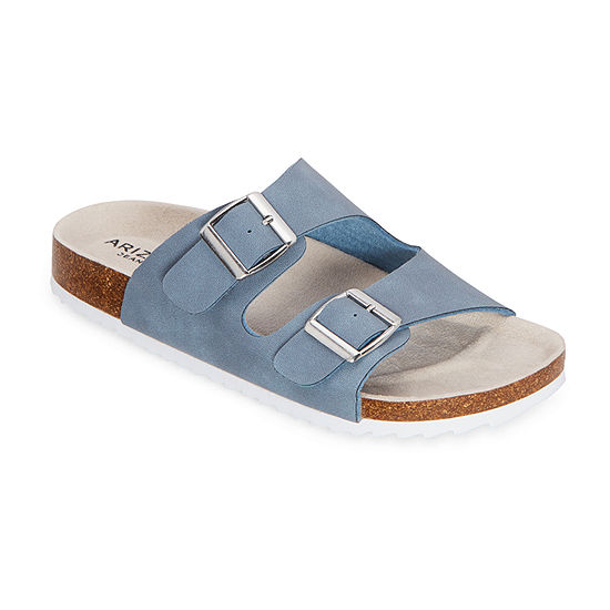 Arizona Finlee Womens Two Strap Footbed Sandals