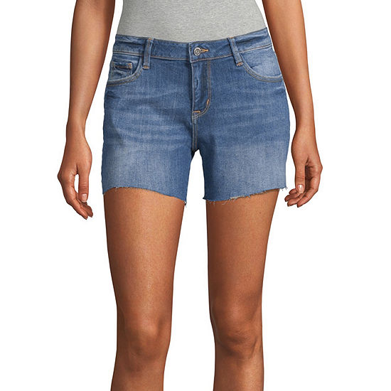 Arizona Womens Midi Short-Juniors