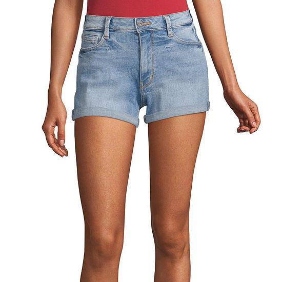 Arizona Womens Shortie Short-Juniors