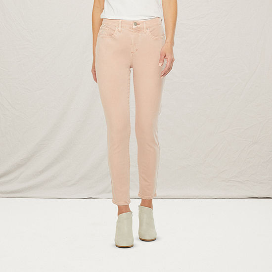 a.n.a Womens High Rise Skinny Ankle Jean