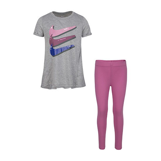 Nike Girls 2-pc. Legging Set-Little Kid