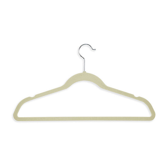 Honey-Can-Do 50 Pack Velvet Touch Hangers