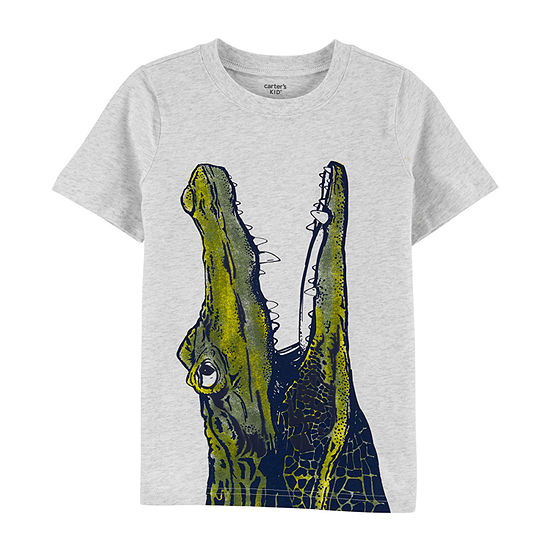 Carter's Little & Big Boys Round Neck Short Sleeve Graphic T-Shirt