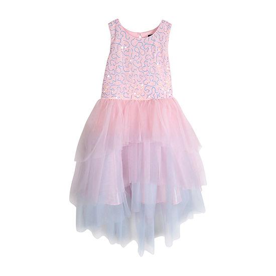 Lilt Little & Big Girls Sleeveless Fit & Flare Dress