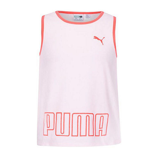 Puma Big Girls Crew Neck Tank Top