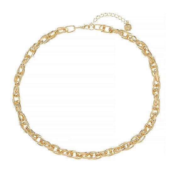 Monet Jewelry 19 Inch Braid Chain Necklace