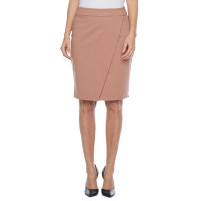 Liz Claiborne Womens Wrap Skirt