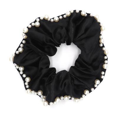 Worthington Large Black Scrunchie Hair Ties