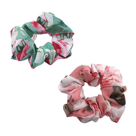 Mixit Scrunchie 2-pc. Hair Ties