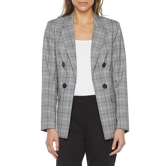 Liz Claiborne Womens Regular Fit Blazer