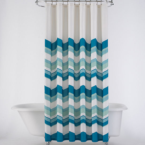 JCPenney Home™ Chevron Shower Curtain
