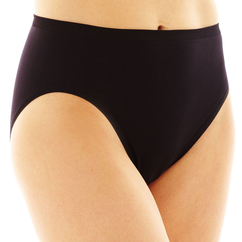 Vanity Fair Tailored Seamless High-Cut Panties - 13211 plus size,  plus size fashion plus size appare