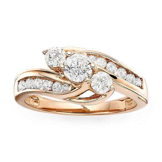 Love Lives Forever™ 1 CT. T.W. Diamond 10K Rose Gold Ring