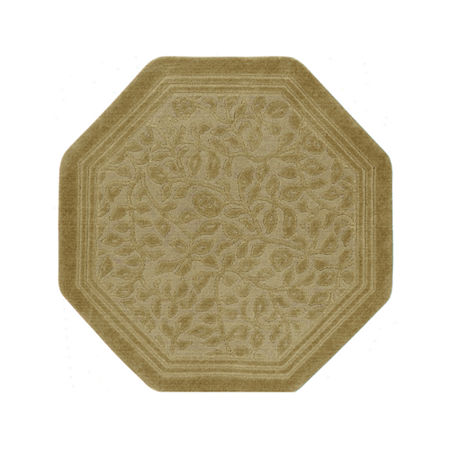 JCPenney Home Wexford Washable 4' Octagonal Rug, One Size , Brown