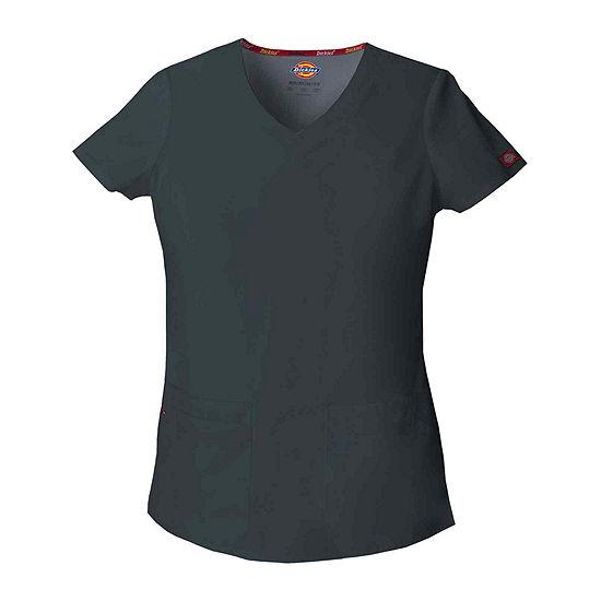 Dickies® 85906 EDS Signature Womens V-Neck Scrub Top - Junior