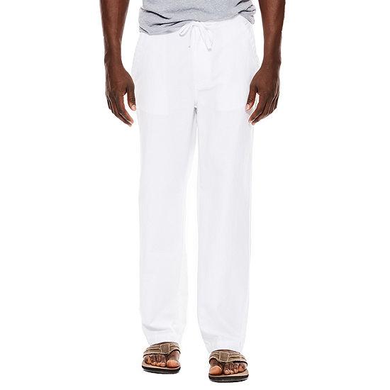 Island Shores Linen Cotton Drawstring Pants