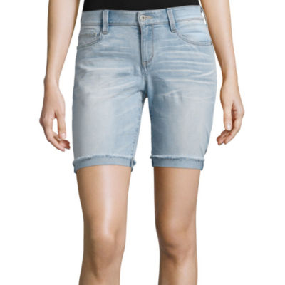 Arizona Raw-Hem Bermuda Shorts