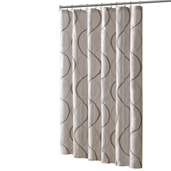 Madison Park Marcel Shower Curtain