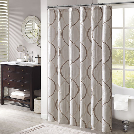 Madison Park Marcel Shower Curtain