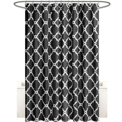 Madison Park Essentials Alameda Printed Shower Curtain